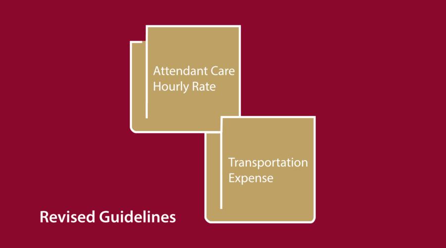 new attendant care rate fsco