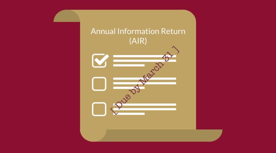 fsco air annual information return