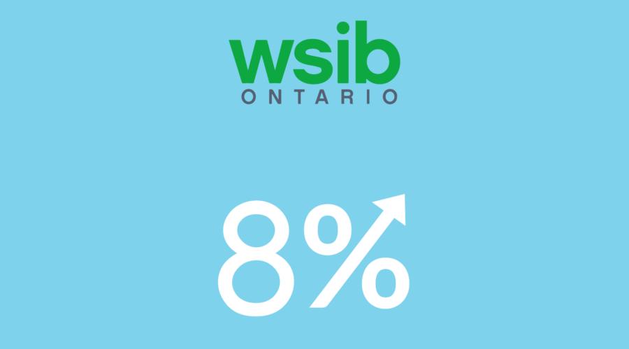wsib service provider rate increase