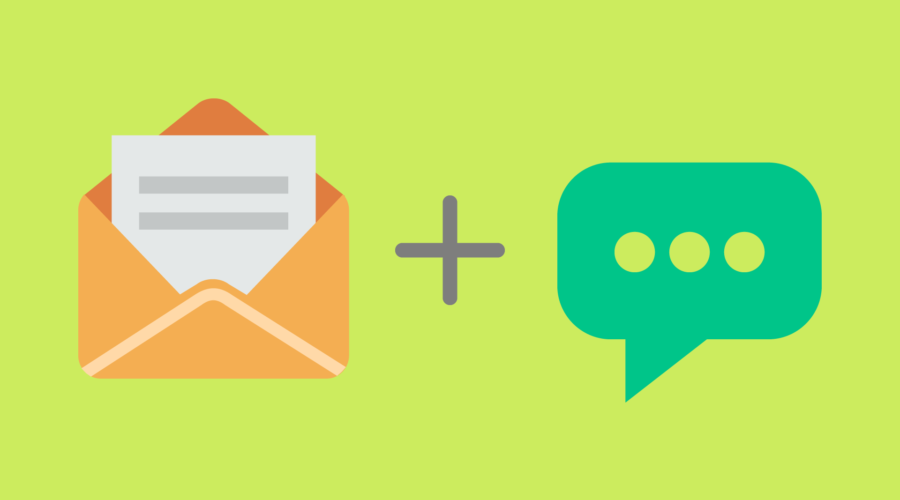 SMS + Email Marketing Template Ideas