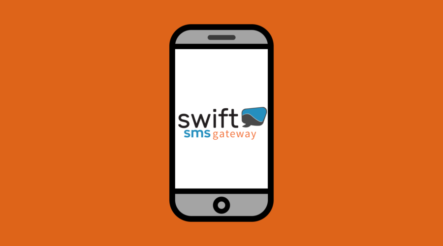 sms notifications with swift sms gateway in universal office