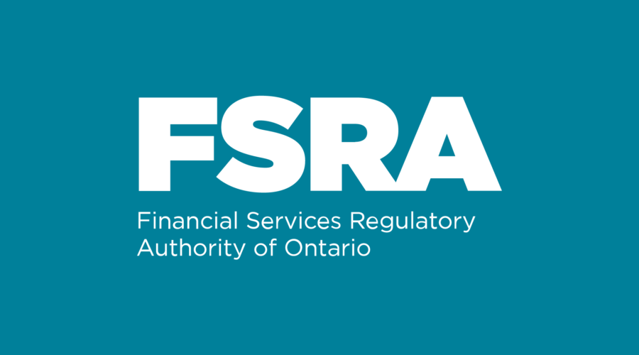 fsra financial services regulatory authority of ontario