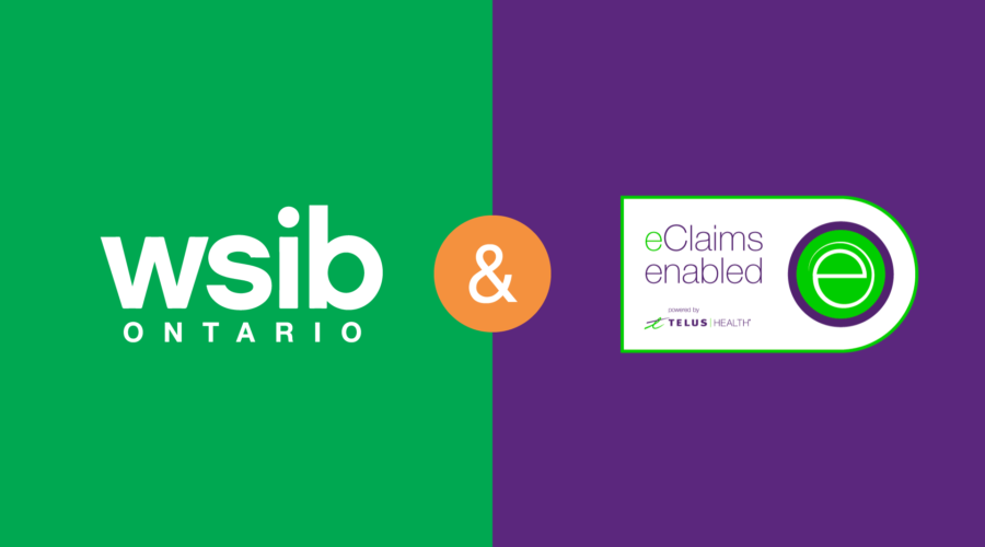 telus health eclaims and wsib eservices differences